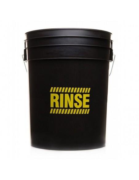 WORK STUFF Detailing Bucket Black - RINSE + Separator