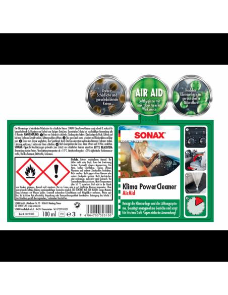 SONAX Klima Power Cleaner Automobilių oro kondicionavimo sistemos valiklis