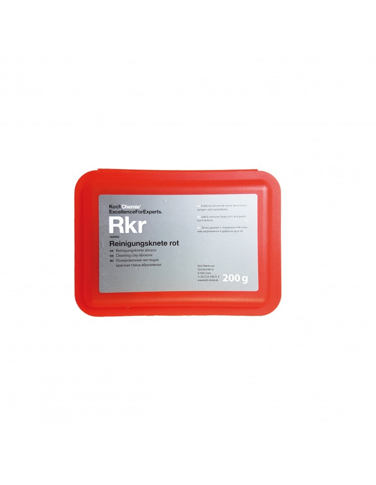 Koch Chemie Rkr cleaning abrasive clay