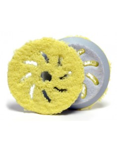 Rupes Big Foot Microfibre Finishing Pad (yellow)
