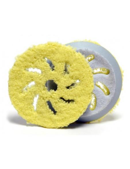 Rupes Big Foot Microfibre Finishing Pad (Yellow)
