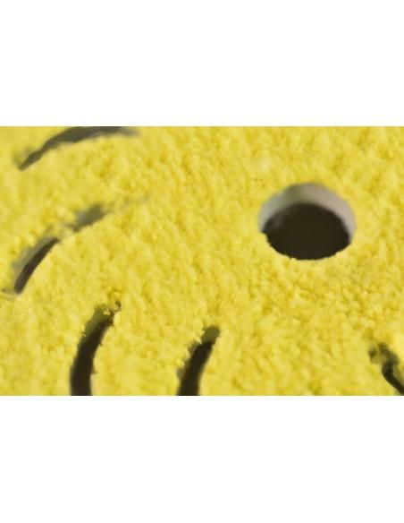 Rupes Big Foot mikropluošto padas blizginimui (geltonas)