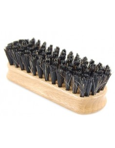 Leather brush - medium