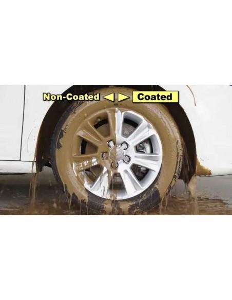 SOFT99 Wheel Dust Blocker + 8 Wipes