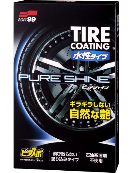 SOFT99 Water-Based Tire Coating PURE SHINE