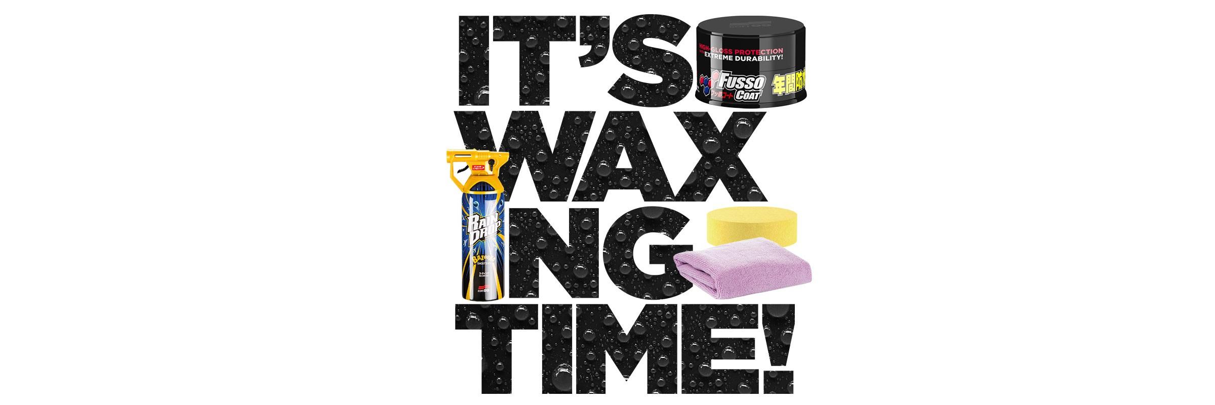 Buy SOFT99 Wax - get Rain Drop Bazooka for free!
